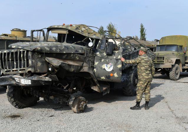俄维和部队副总指挥:纳卡地区停火机制得到全面遵守