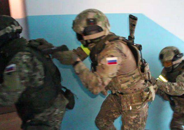 俄罗斯联邦安全局官员