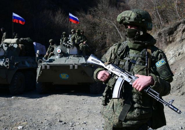 俄罗斯维和部队在纳卡
