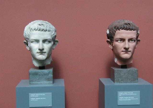 罗马办公楼下方发现暴君卡利古拉的宫殿遗迹