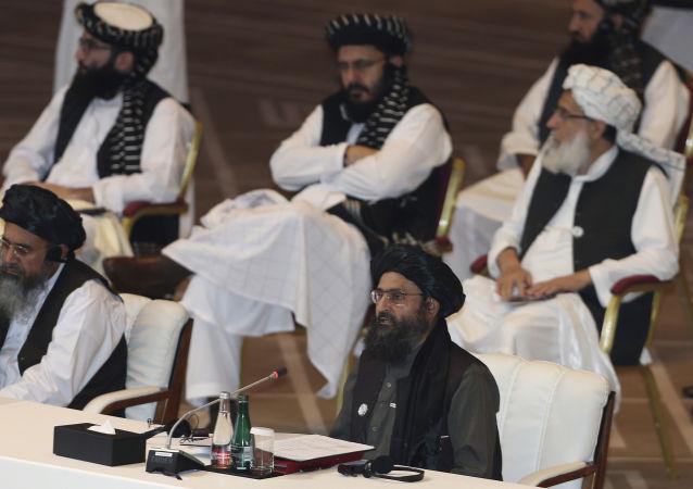 塔利班在与阿富汗政府的谈判中