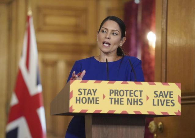 英国内政大臣普丽蒂·帕特尔