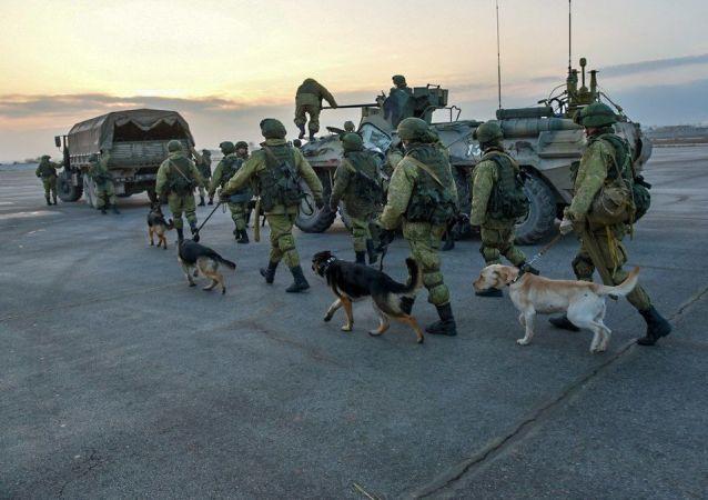俄罗斯武装力量国际排雷中心军人