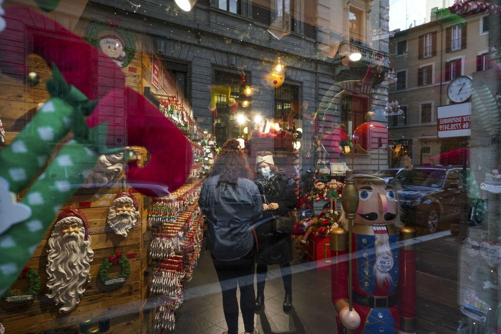 罗马的圣诞节装饰
