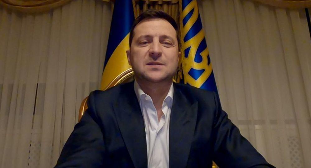 乌克兰总统泽连斯基已治愈新冠肺炎