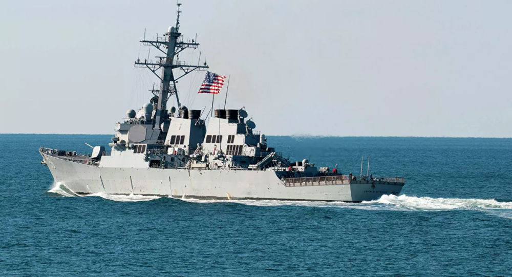 俄罗斯舰艇有权用火炮击毁美国驱逐舰