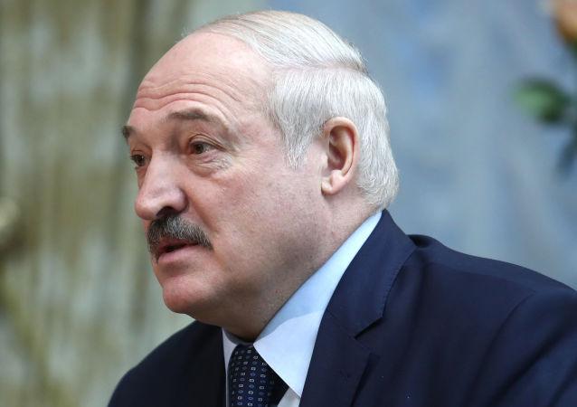 白俄罗斯总统、白俄罗斯国家奥委会主席出席卢卡申科