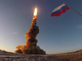 俄罗斯进行放空系统导弹试射