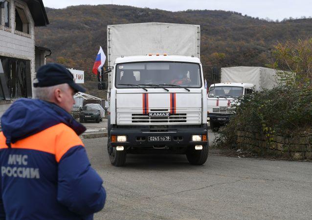 俄维和人员在帮助纳卡应对医务人员短缺问题