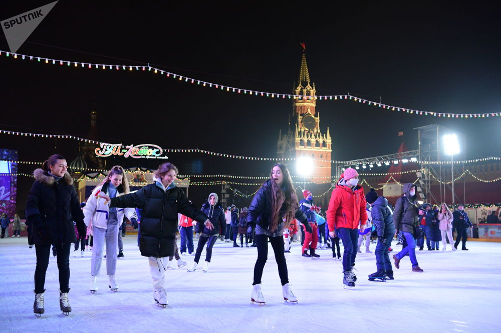 古姆溜冰场新溜冰季启动仪式
