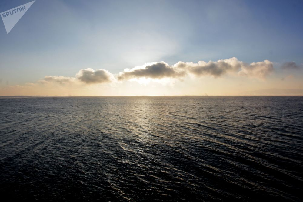 冬季的贝加尔湖
