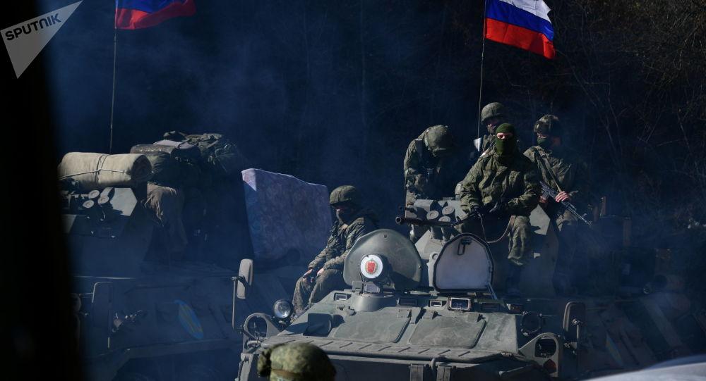 俄维和人员