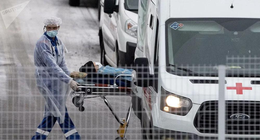 俄单日新增新冠病毒感染病例27403例 累计超240.2万例