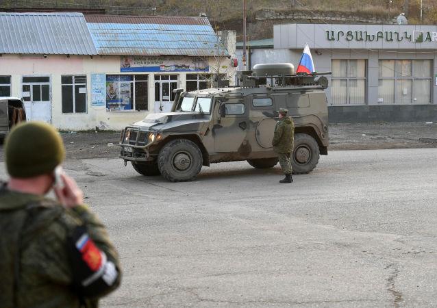 俄驻卡拉巴赫维和部队