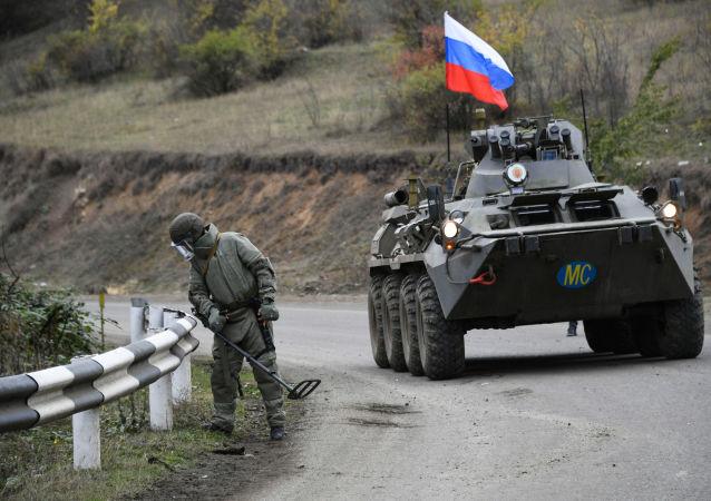 俄维和部队在纳卡地区排雷清除面积超3公顷