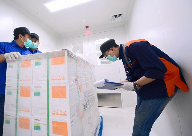 中国科兴疫苗箱子