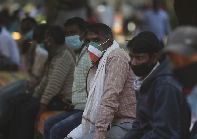 印度开始大规模接种新冠疫苗