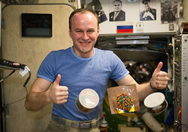 俄罗斯宇航员谢尔盖•梁赞斯基
