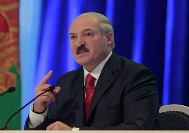 白俄罗斯总统亚历山大•卢卡申科