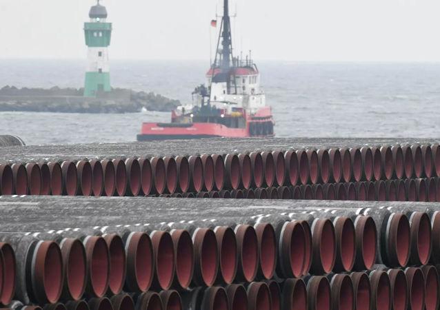 """""""北溪-2""""号天然气管道在丹麦沿海的铺设工作将于1月15日开始"""
