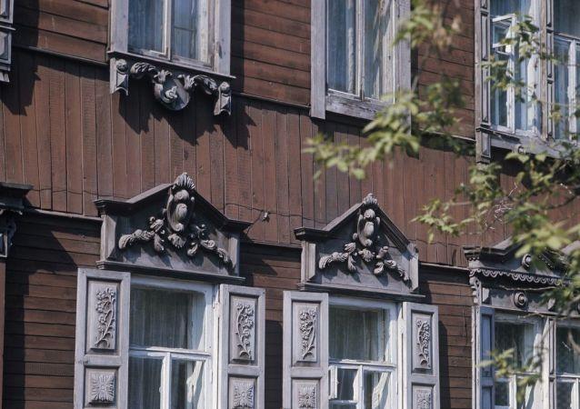 伊尔库茨克, 老城