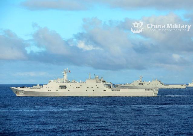 中国和新加坡海军将举行海上联合演习