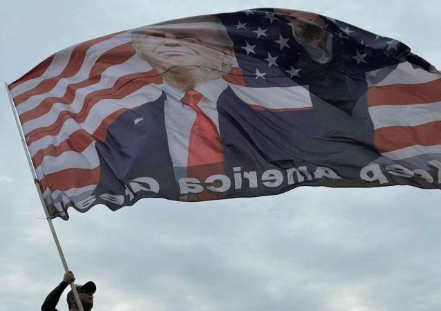 美国总统大选(资料图片)