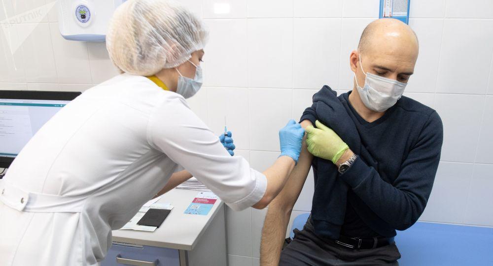 莫斯科超70万人已接种新冠疫苗