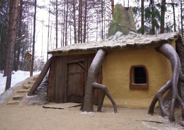 童话森林:霍比特人的家和史莱克的小屋