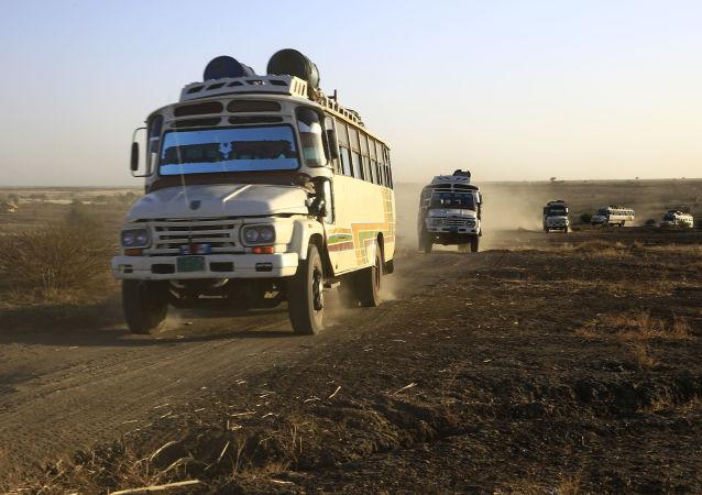 在苏丹-埃塞俄比亚边界