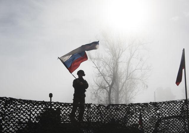 俄维和人员在纳卡