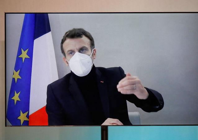 法国总统马克龙病情稳定