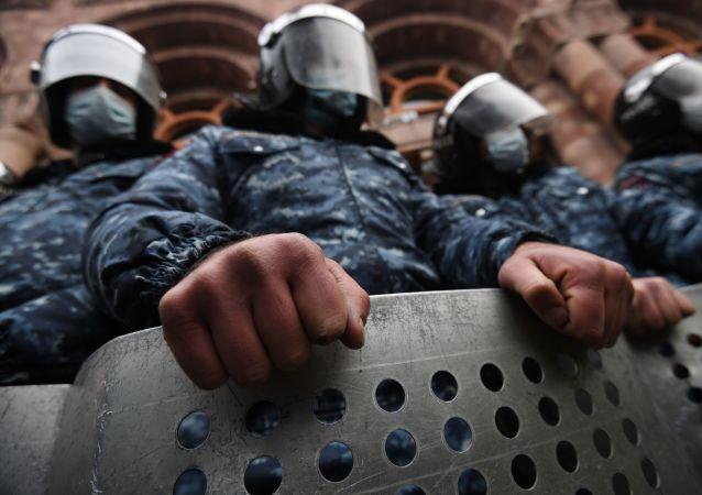 亚美尼亚警方