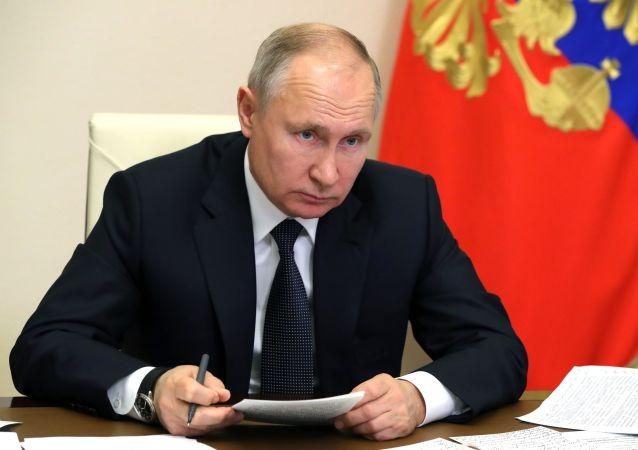 俄罗斯总统弗拉基米尔·普京
