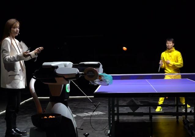 花式乒乓球挑战赛