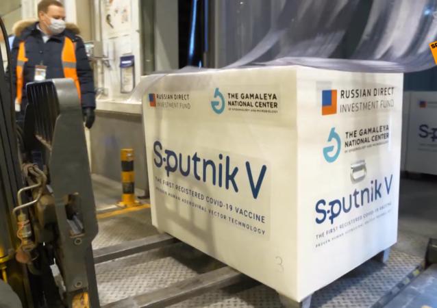"""装载有""""卫星-V""""疫苗的飞机已飞往阿根廷"""