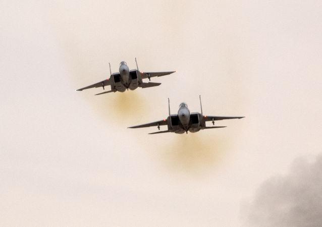 以色列空军F-15战机