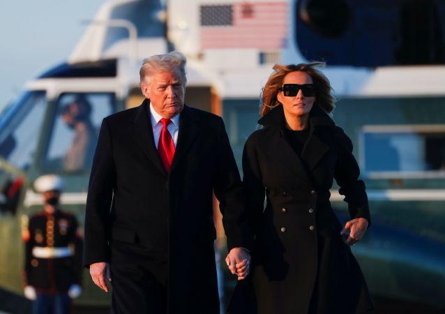 特朗普结束休假提前一周返回华盛顿