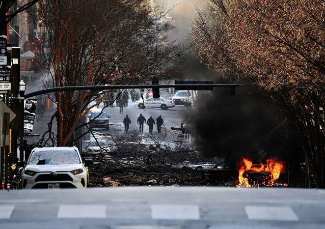 美国纳什维尔市发生一起汽车爆炸事件