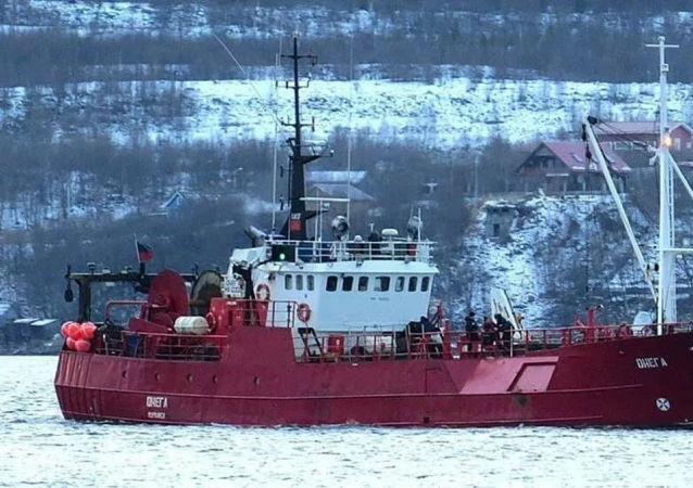 """""""奥涅加""""渔业船"""