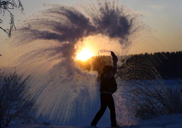 克拉斯诺亚尔斯克边疆区冬季生活面面观