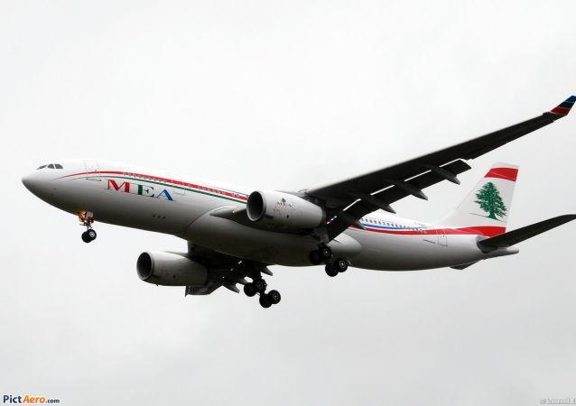 黎巴嫩中东航空公司的Airbus A330-200客机
