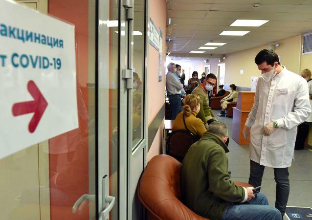 调查:十分之一的俄罗斯人准备接种新冠病毒疫苗