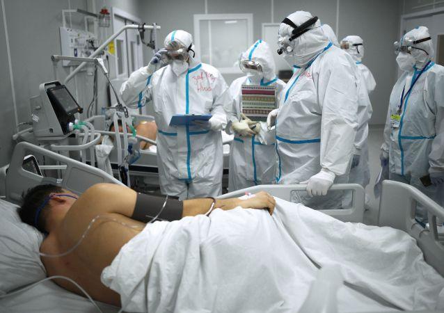 俄防疫指挥部:俄单日新增新冠病毒感染病例12828例 累计超411.2万例