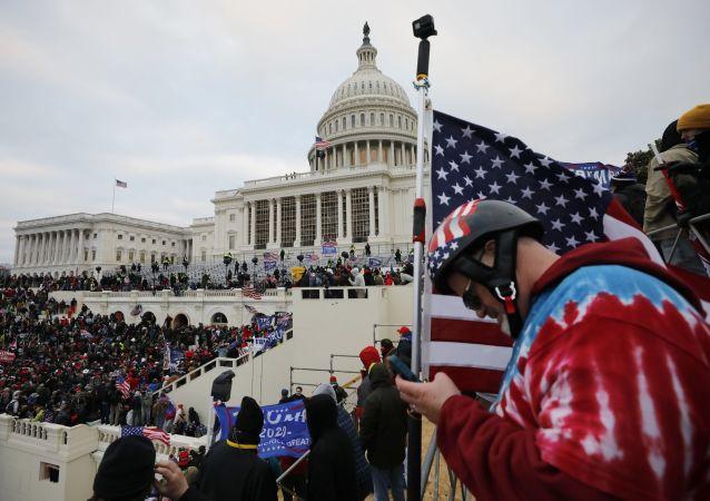 美国疾病控制与预防中心:国会大厦骚乱可能导致全国新冠疫情爆发