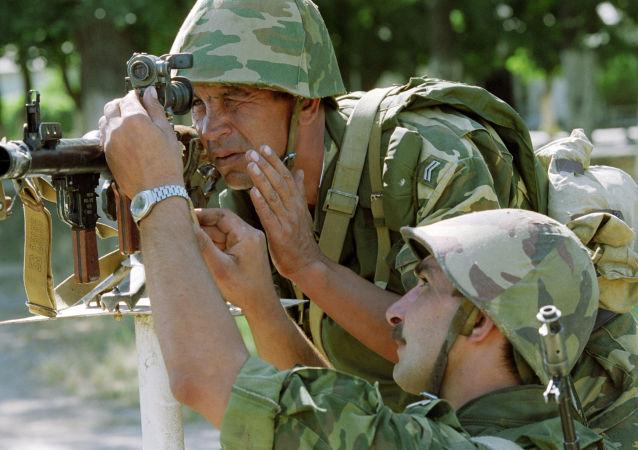 俄罗斯合同兵
