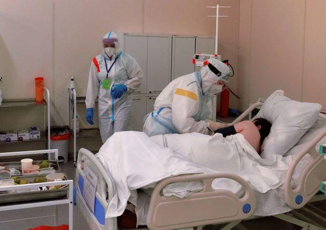 俄罗斯新增新冠病毒感染病例15916例