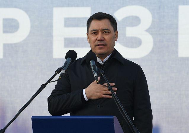 扎帕罗夫正式就任吉尔吉斯斯坦总统
