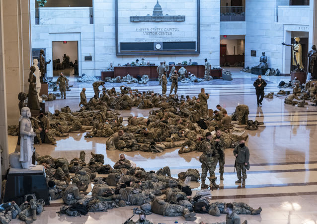 五角大楼批准国民警卫队再在国会大厦区域内逗留2个月