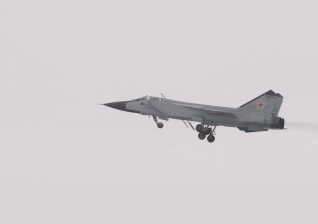 米格-31BM的飞行